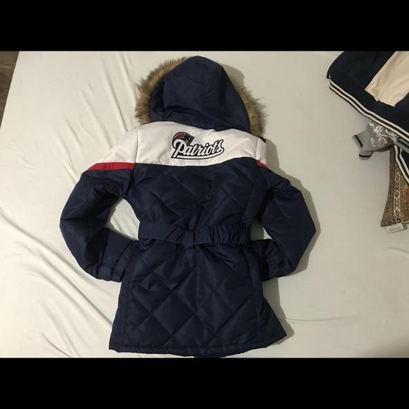 save off 5bde1 f92e5 Women's NFL Patriots winter coat